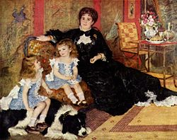 Pierre-Auguste Renoir: Mme. Charpentier and Her Children