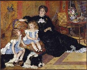Madame Charpentier et ses enfants