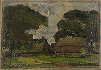Piet Mondriaan - Farmstead under oak trees I - 0334279 - Kunstmuseum Den Haag.jpg