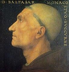 Portrait du moine Baldassarre