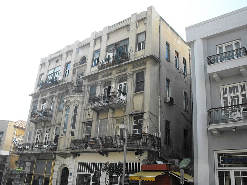 מבנה לשימור בתל אביב