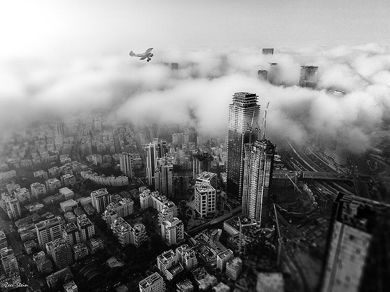 תל אביב במבט מעל