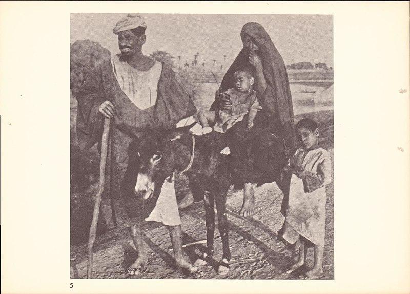 משפחת פלאחים ערבים