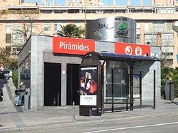 Pirámides (metropolitana di Madrid) - Wikipedia