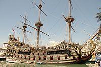 Pirates, Roman Polanski, boat Genova 2.jpg