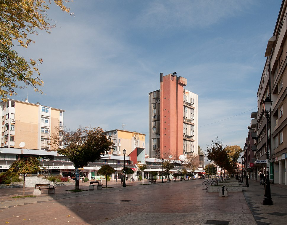Pirot central area