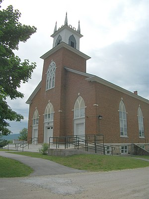 Pittsford, Vermont - Pittsford Congregational Church