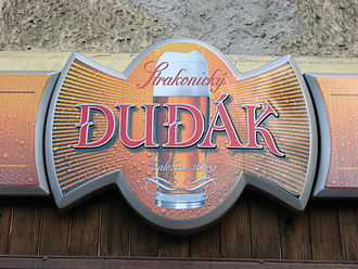 Strakonice - Dudák; the burghers' brewery