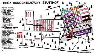 Stutthof concentration camp - Image: Plan Stutthof
