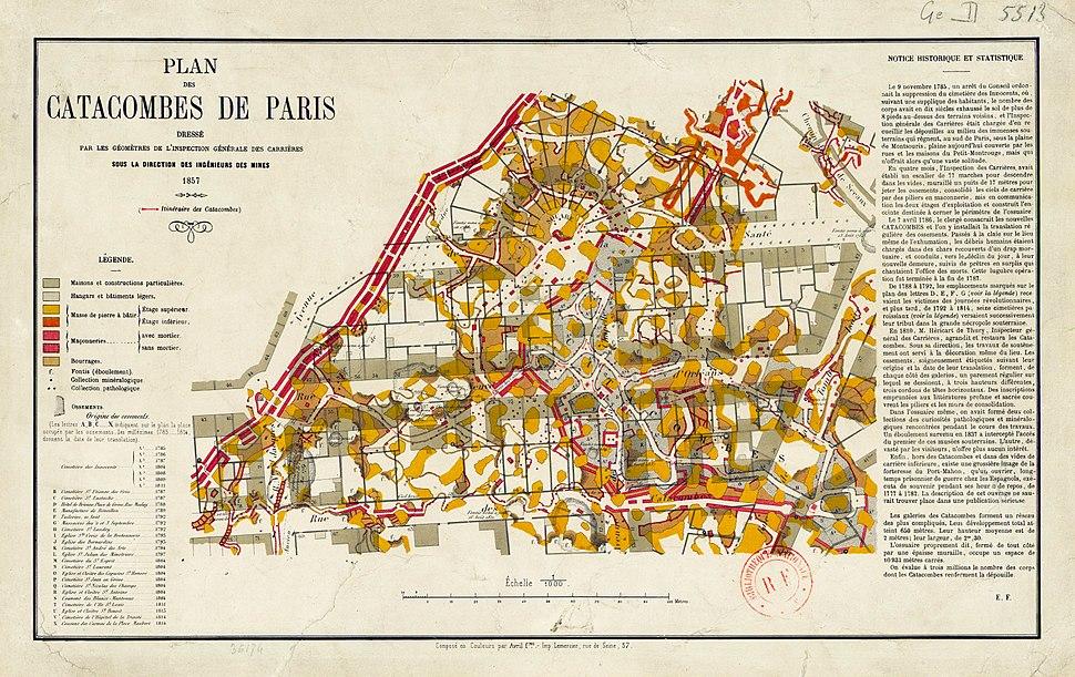 Plan cata paris 1857 jms