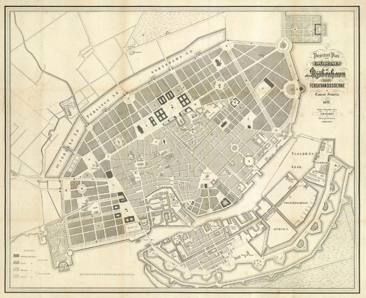 File:Plan for the Expansion of Copenhagen 1857 by Conrad Seidelin.djvu