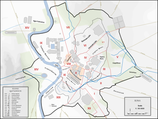 Roma Centro Storico Cartina.Rioni Di Roma Wikipedia