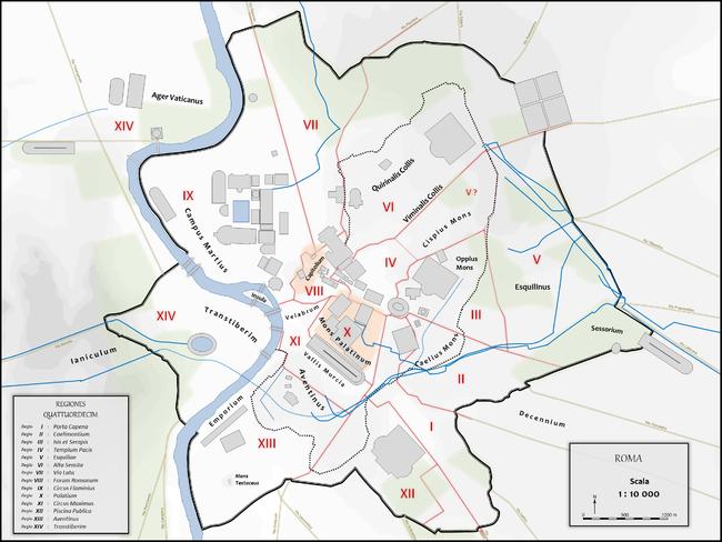 Centro Storico Cartina Geografica Roma.Roma Citta Antica Wikipedia