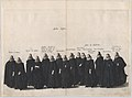 Plate 19- Aides marching in the funeral procession of Archduke Albert of Austria; from 'Pompa Funebris ... Alberti Pii' MET DP874765.jpg