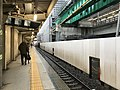 Platform of Hagoromo Station (Nankai Main Line) 2.jpg