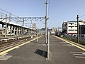 Platform of Nishi-Kokura Station (Nippo Main Line).jpg