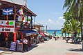 Playa del Carmen going to the beach - panoramio.jpg