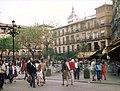 Plaza de Zocodover, Toledo, 1983 (retouched).jpg