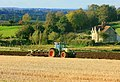 Ploughing near Burnett - geograph.org.uk - 1009545.jpg