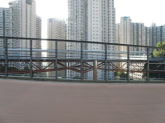 Po Kong Village Road Park - Image: Po Kong Village Road Park (segregated cycle facilities)