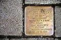 Podbielskistraße 274, Hannover-List, Liststadt, Stolperstein Michael Umansky 1897-1944 Ahlem Auschwitz Stutthof Natzweiler Hailfingen.jpg
