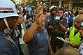 Police commander being interviewed, Movimento Passe Livre 2015.jpg