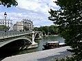 Pont de Sully depuis la rive gauche de la Seine (août 2019).JPG
