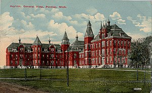 Clinton Valley Center - Pontiac State Hospital, c. 1912