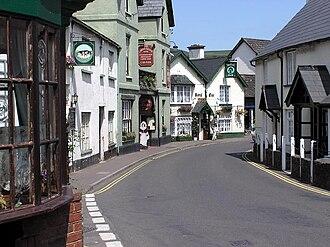 Person from Porlock - Porlock village, Somerset, England.
