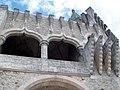 Pormenor de uma Torre do Castelo de Porto de Mós (2).jpg