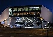 Porsche-Museum Main Entrance.JPG
