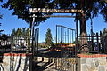 Portland, OR - Our Lady of La Vang Catholic Church gate 01.jpg