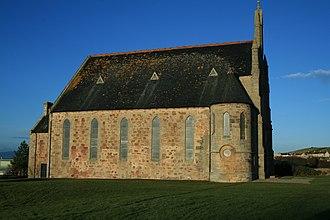 Portmahomack - Image: Portmahomack Church