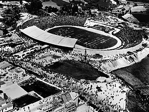 Estádio das Antas - Stadium inauguration in 1952