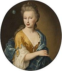 Portrait of Theodora Rijswijk (1695-1752). Furture Wife of Pieter  Balguerie