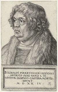 Willibald Pirckheimer German humanist