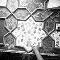 Poslikan strop cerkve v Nadlesku 1962.jpg