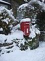 Post Box, Longlands Road, Slaithwaite - geograph.org.uk - 1659472.jpg