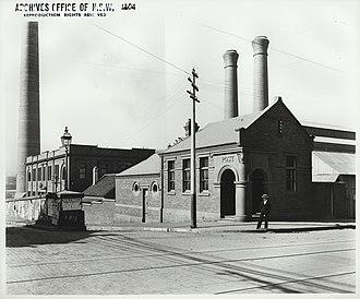Ultimo Post Office - Ultimo Post Office (Ultimo Power House behind)