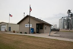 Post office in Colfax, North Dakota 7-29-2009.jpg