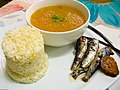Potato-carrot soup with rice and sardines.jpg