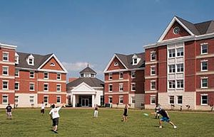 Christopher Newport University - York River Hall