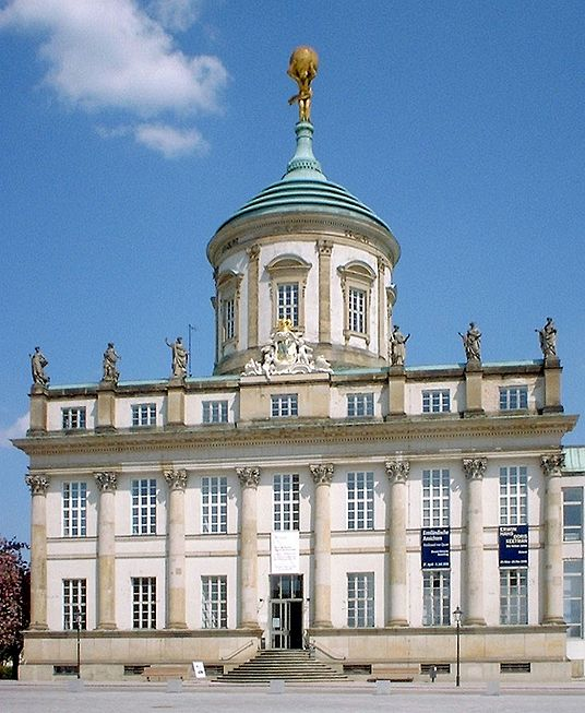 [The Old Town Hall in Potsdam, Germany]