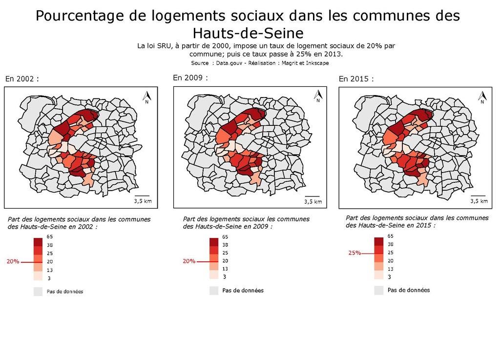 File pourcentage de logements sociaux dans les communes for Appartement atypique hauts de seine