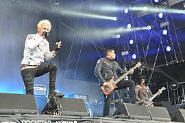 Powerman 5000 auf der Alternastage bei Rock am Ring 2014
