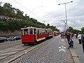 Průvod tramvají 2015, 10b - tramvaj 444 a 999.jpg