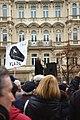 Praha, Václavské náměstí, Demonstrace 2011, proslov.jpg