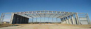 Portal frame construction method