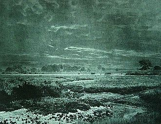 Alfred Horsley Hinton - Salt Marshes