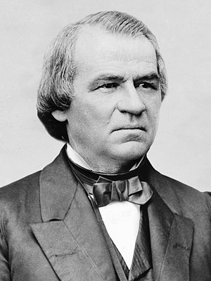 39th United States Congress - President of the Senate Andrew Johnson, until April 15, 1865